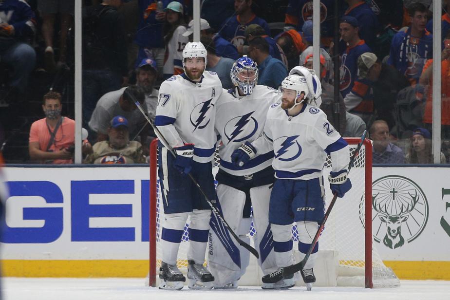 Semi-final |  The Lightning took a series lead, beating the Islanders 2-1