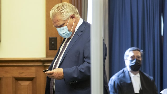 Doug Ford handles the restructuring of the main cabinet