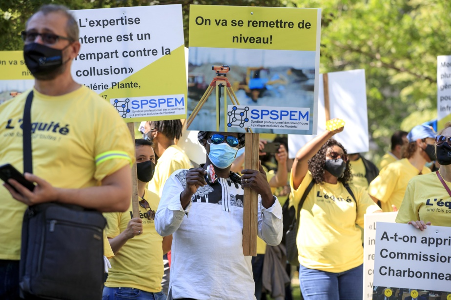 The strike by municipal engineers will affect the REM