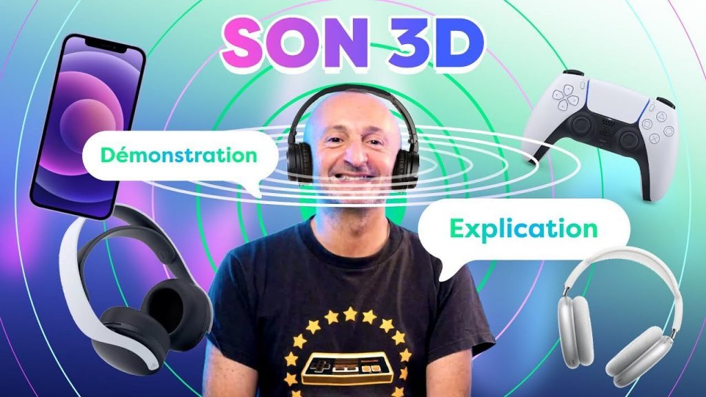 Apple Spatial Audio, Dolby Atmos, Gaming Headphones ... PP Garcia tells you about 3D audio