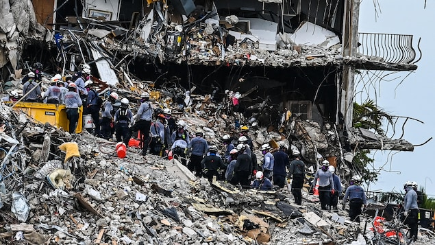 Collapsed in Florida: The condition of the building continued to deteriorate