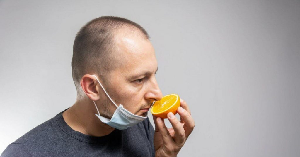 96% of patients regain their sense of smell ... after one year