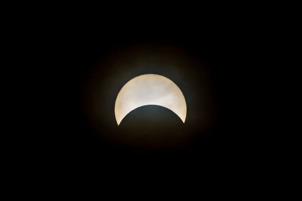 A solar eclipse will be observed this Thursday in Quebec