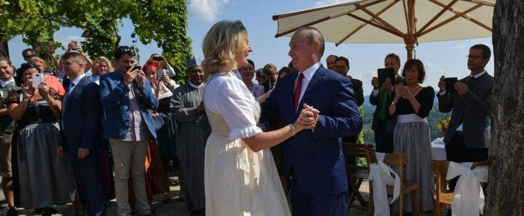 An important position for the person who danced with Putin