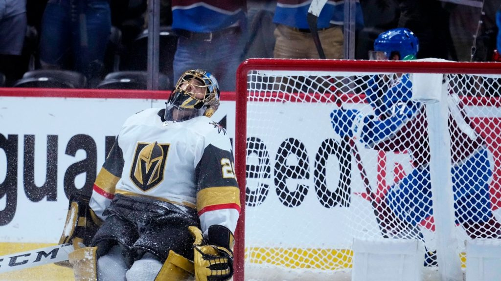 Avalanche has a 2-0 lead in the NHL: C Series.  Vegas with a 3 to 2 profit on the pro.