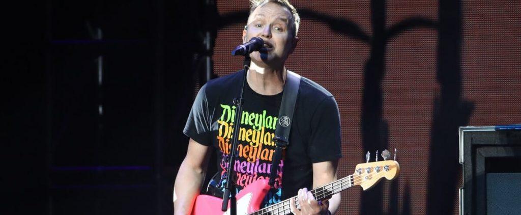 Blink-182 singer Mark Hoppus has cancer