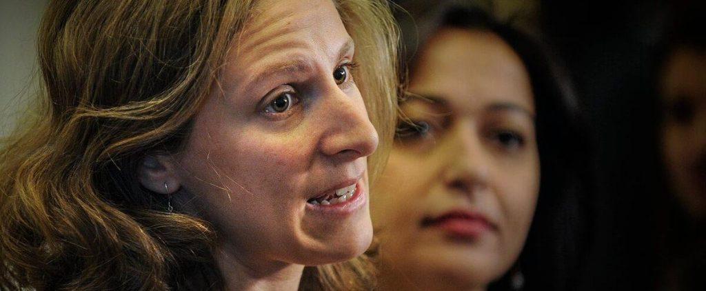 Christine Labrie, QS new parliamentary leader
