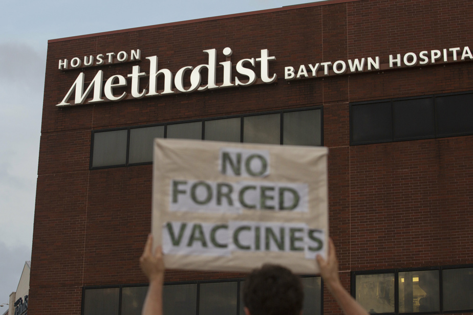 Compulsory vaccinations |  About 150 employees were forced to quit their jobs at Houston Hospital