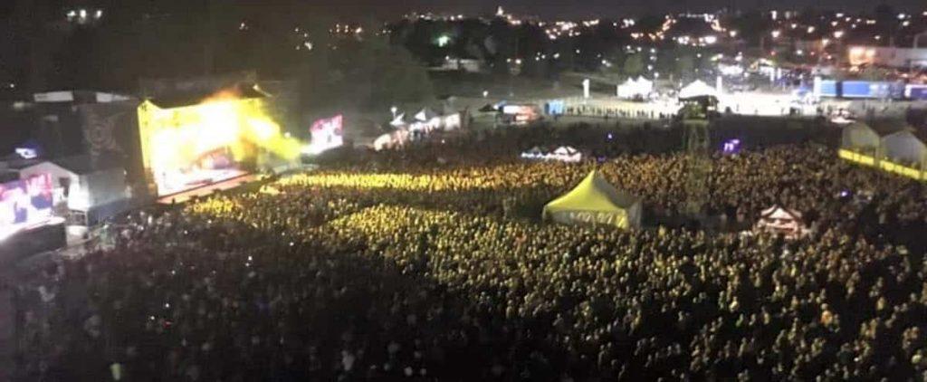 Festival for 2,500 people in Rimowski