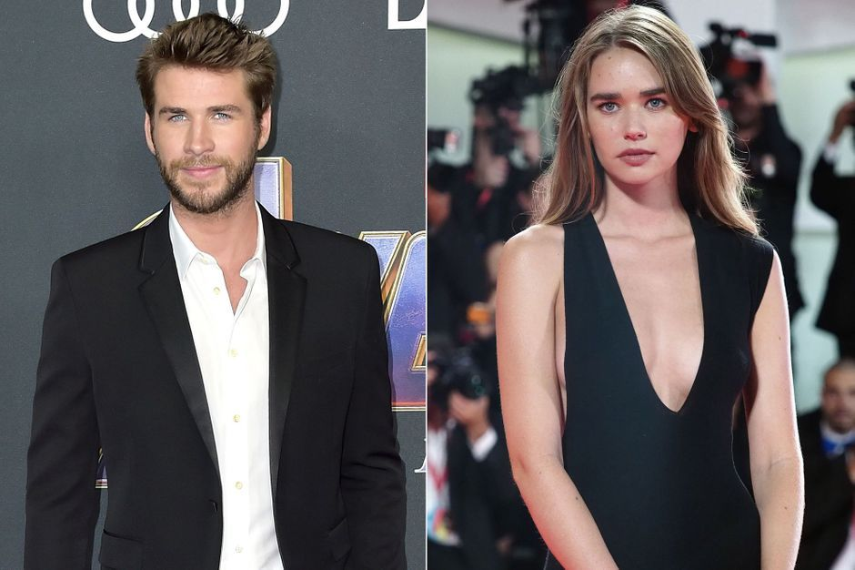 First shots with Liam Hemsworth and his girlfriend Gabriella Brooks