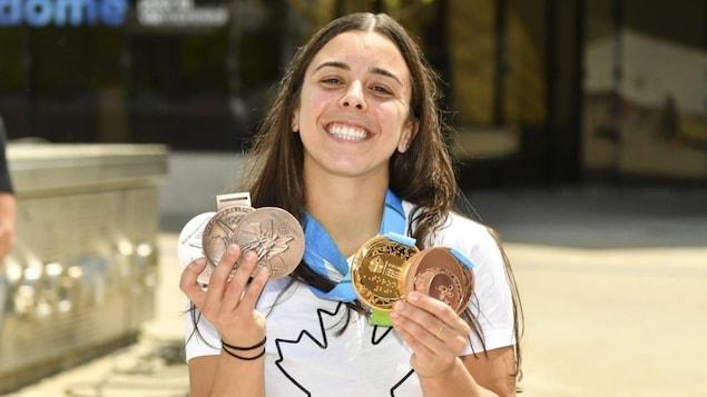 Meghan Benfito regains her Olympic medal