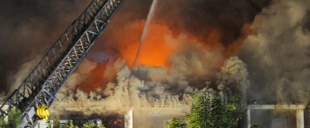 Nearly 150 homes have been evacuated in a fire in Dollar-des-Ormax