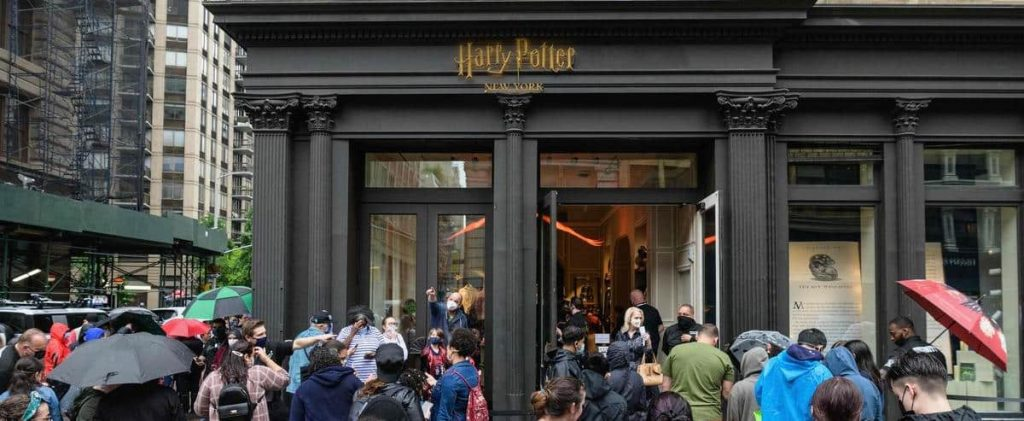 [PHOTOS] A large store dedicated to the Harry Potter universe has opened in New York