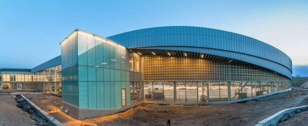 [PHOTOS] Quebec City: Discover the interior of the Intact Assurance Ice Center