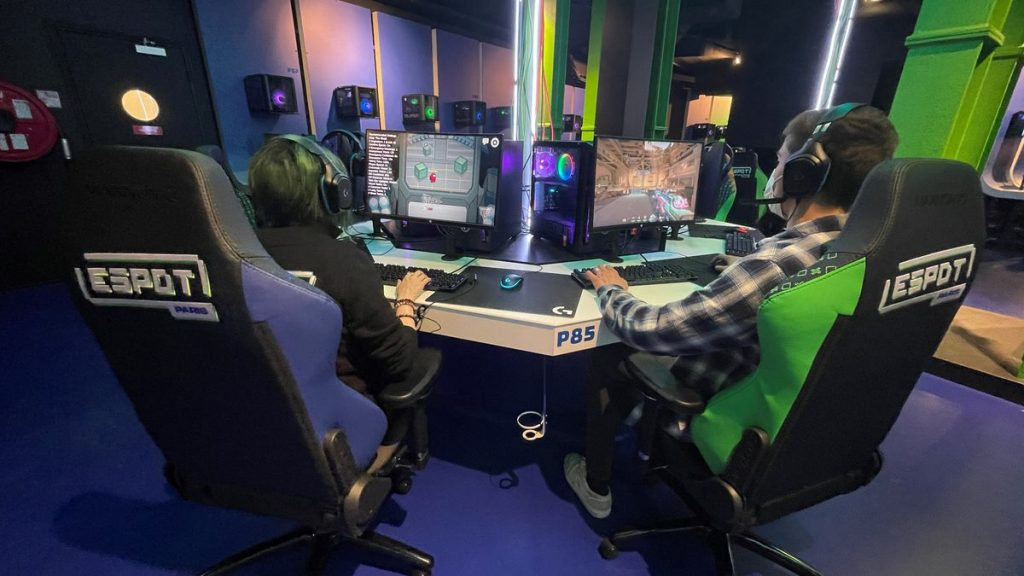 Paris: Spot, a large gaming space that wants to magnetize all players