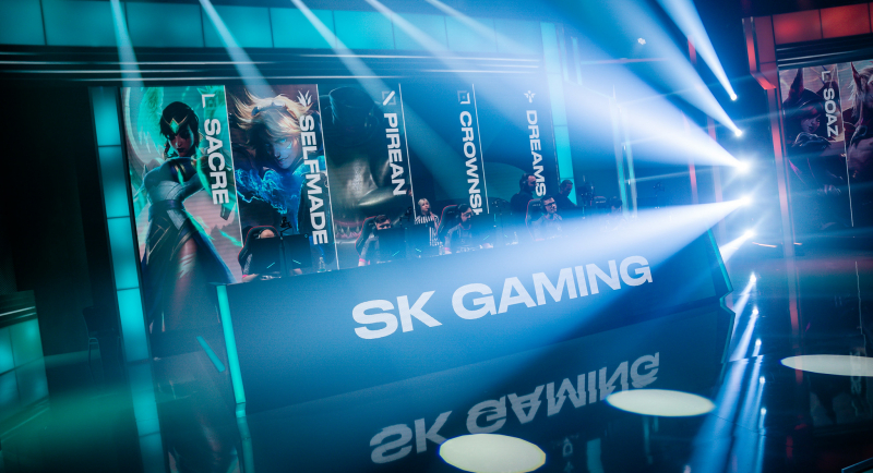 SK Gaming changes its LEC list
