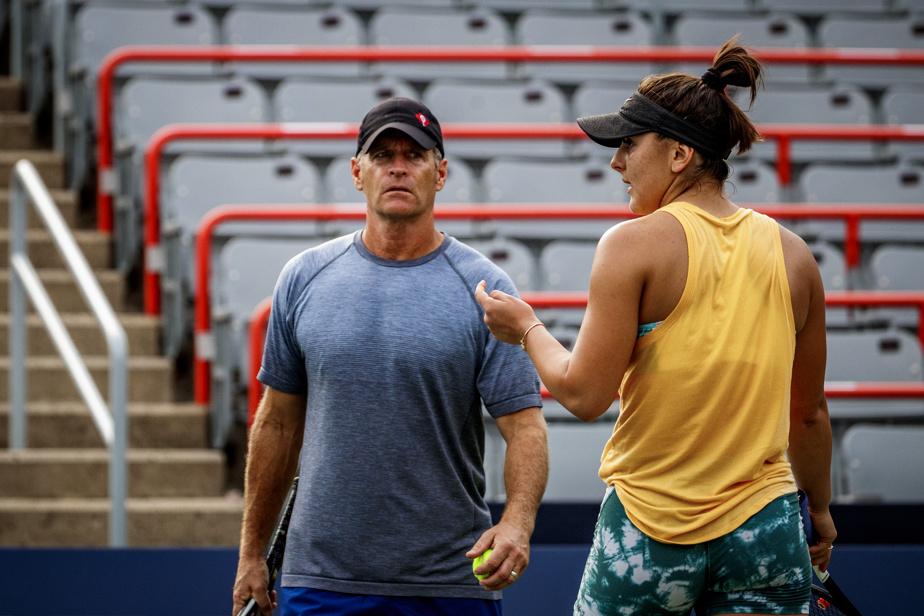 Sylvain Bruno is no longer Bianca Andres' coach
