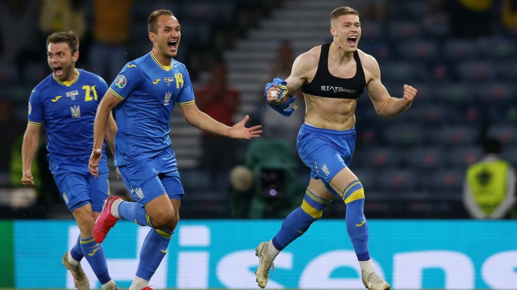 Ukraine joins England in Euro: Quarterfinals