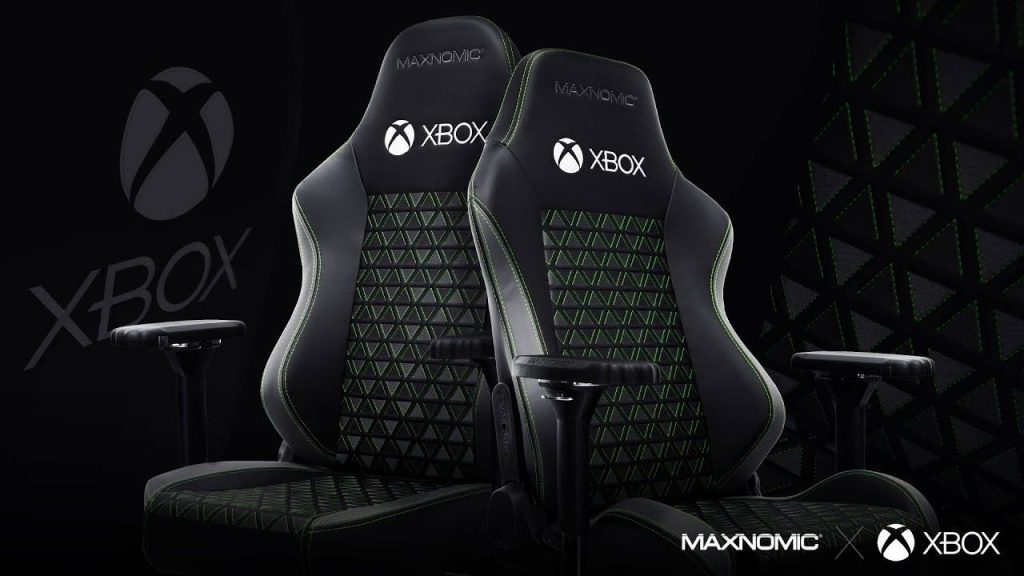 Gaming chair: Maxnomic releases official Xbox licensed seat |  Xbox One
