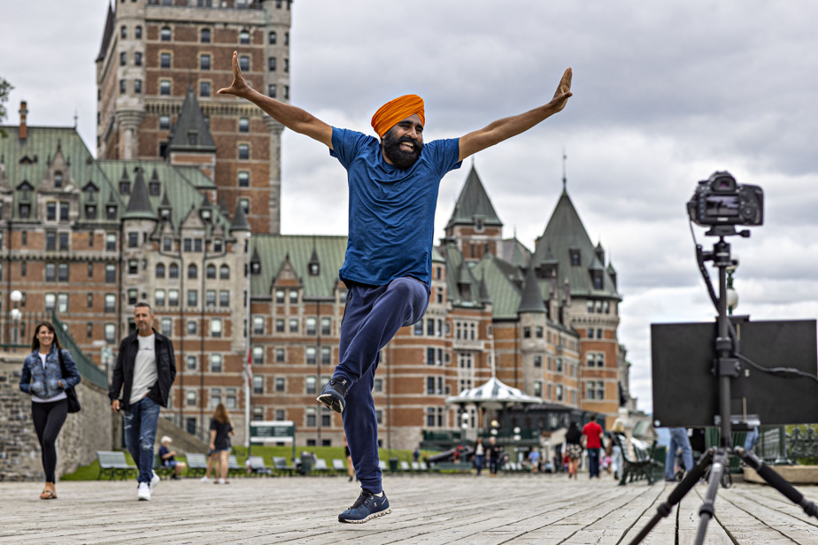 The web phenomenon Gurdeep Panther is emerging in Quebec