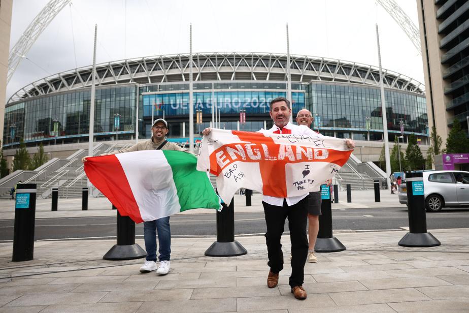 Euro |  The long-awaited final at Wembley, Italy-England