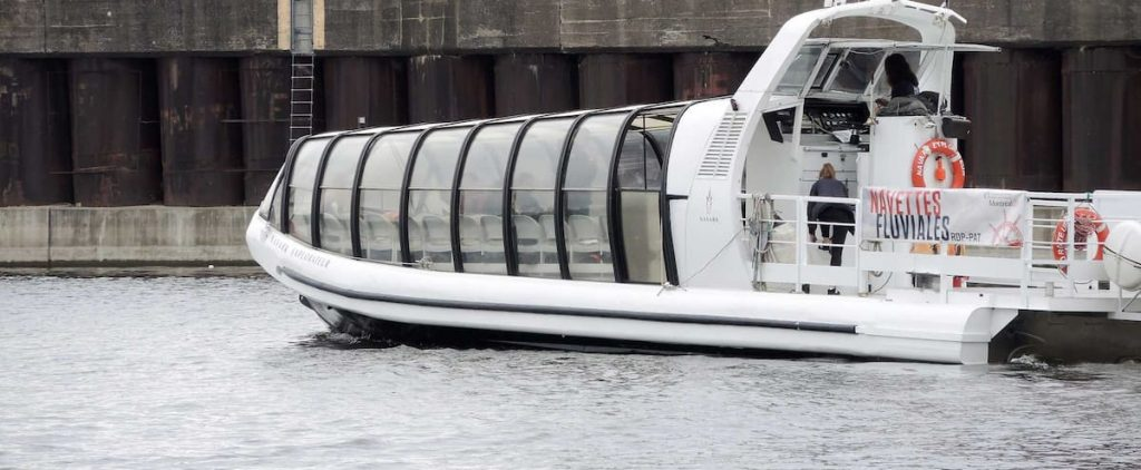 Dissatisfied with the return of the river shuttle