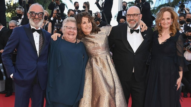 Aline, a film about Celine Dion and its Quebec cast in Cannes