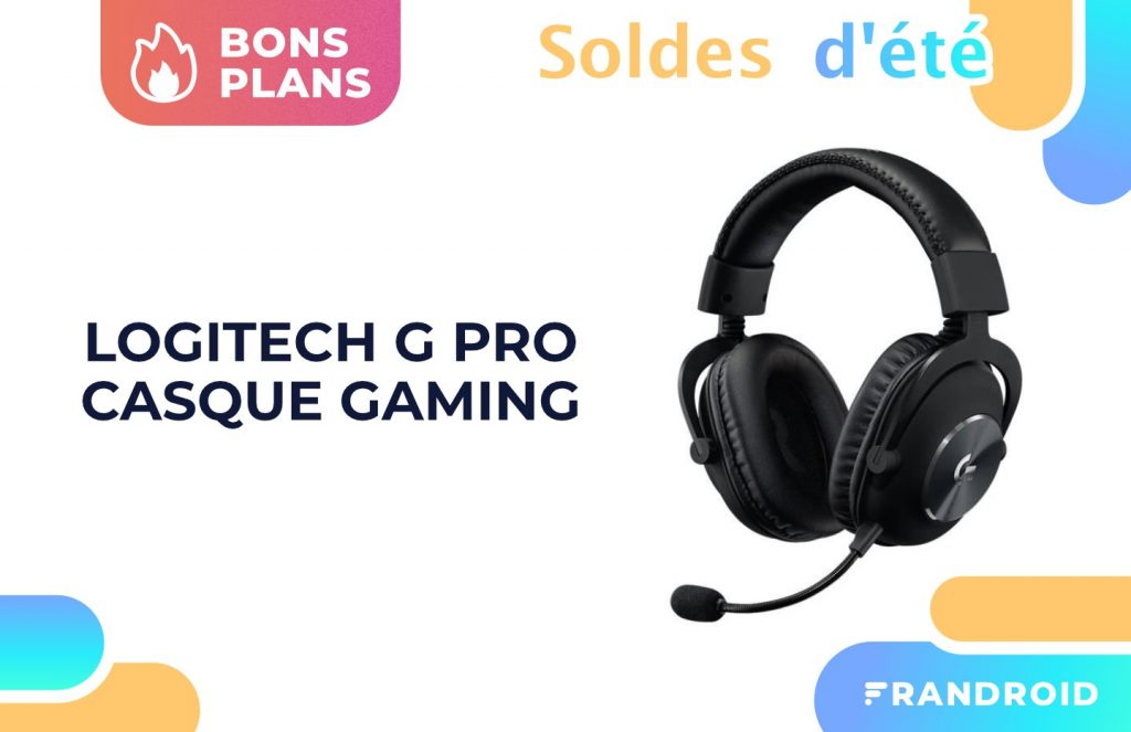 Logitech G Pro is a good gaming headset, low on sales time