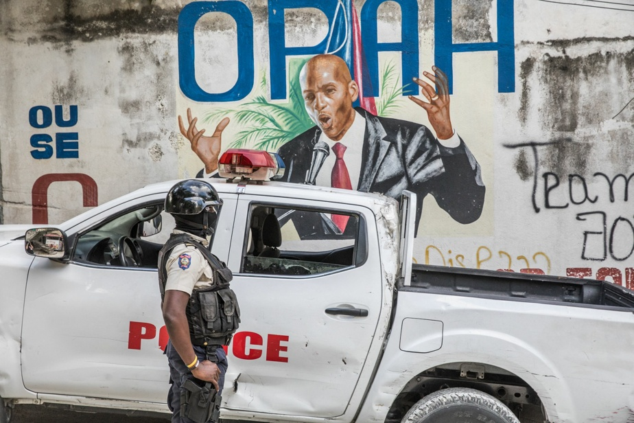 Haiti |  The president's funeral was assassinated on July 23, when former leader Aristide returned