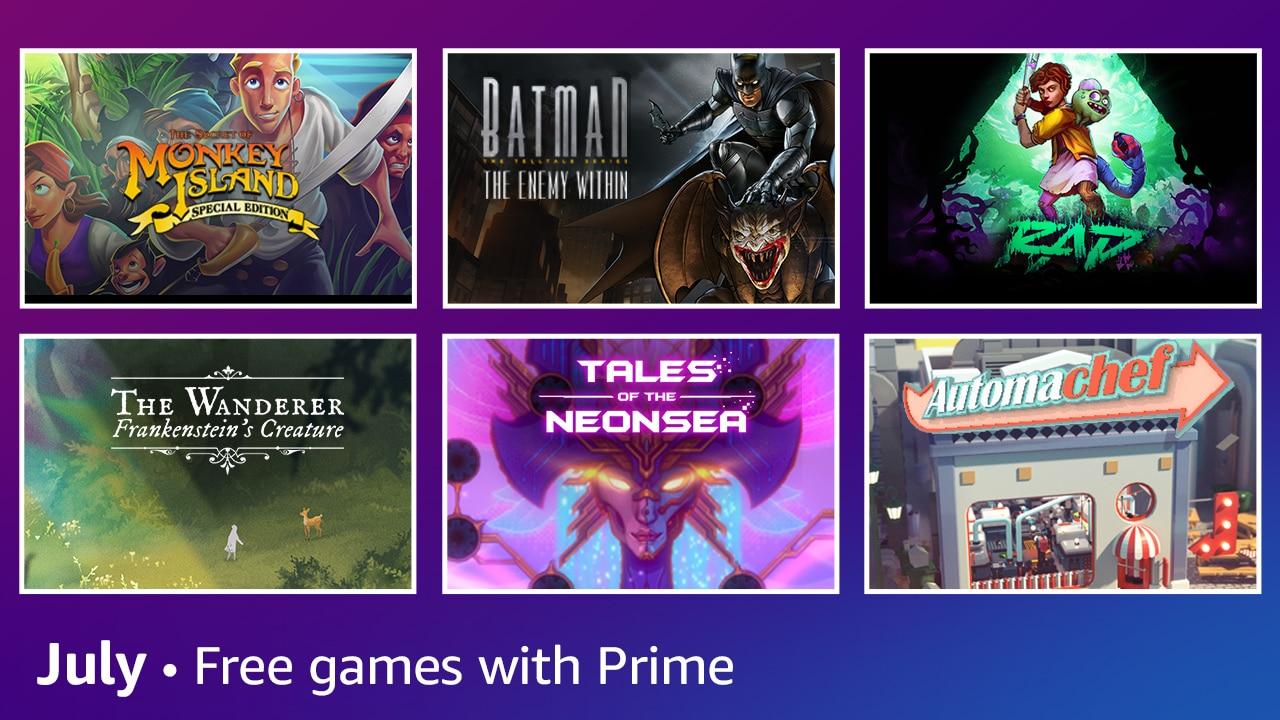 Prime Gaming July 2021 2