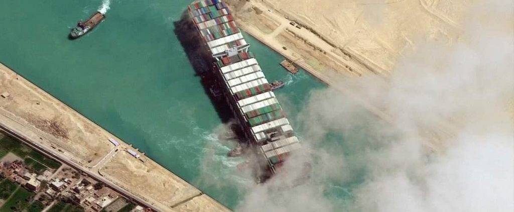 Agreement to release the vessel that blocked the Suez Canal
