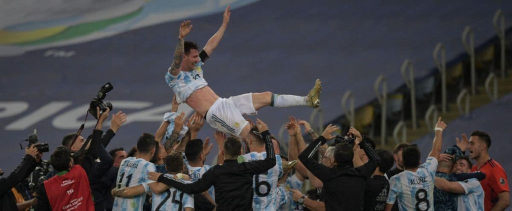 Copa America: Messi's first title with Argentina