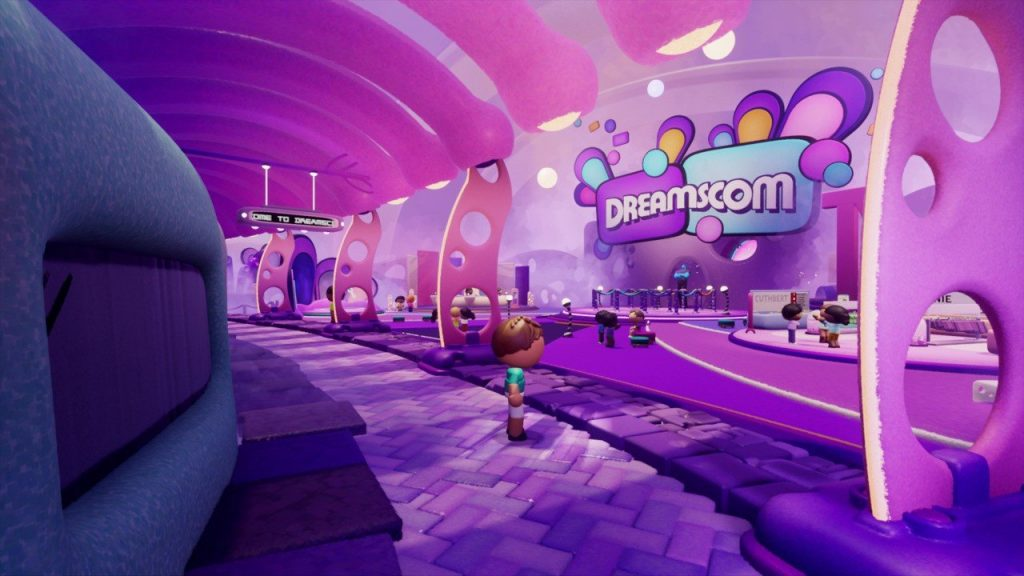 Digital Gaming Expo Dreamscom officially launches on PS4 on Dreams
