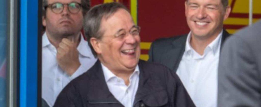 Floods: Laughter provokes outrage over potential Merkel successor