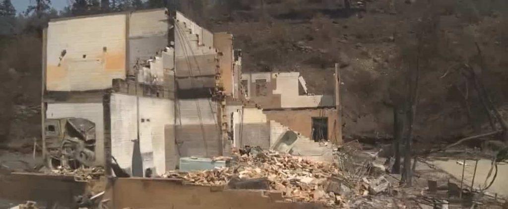 Leighton: Disaster victims visit their devastated village