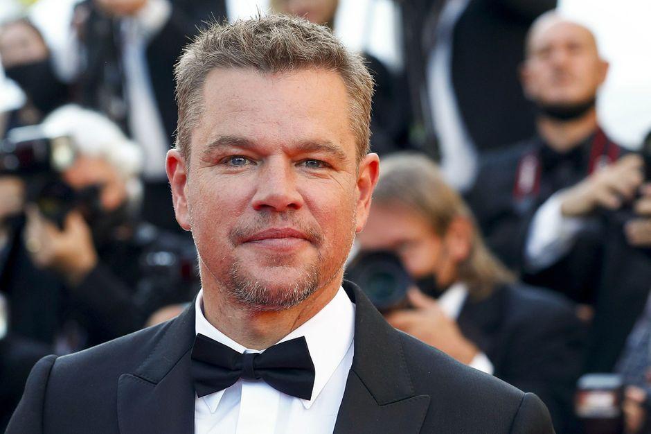 Matt Damon, American star in Croydon