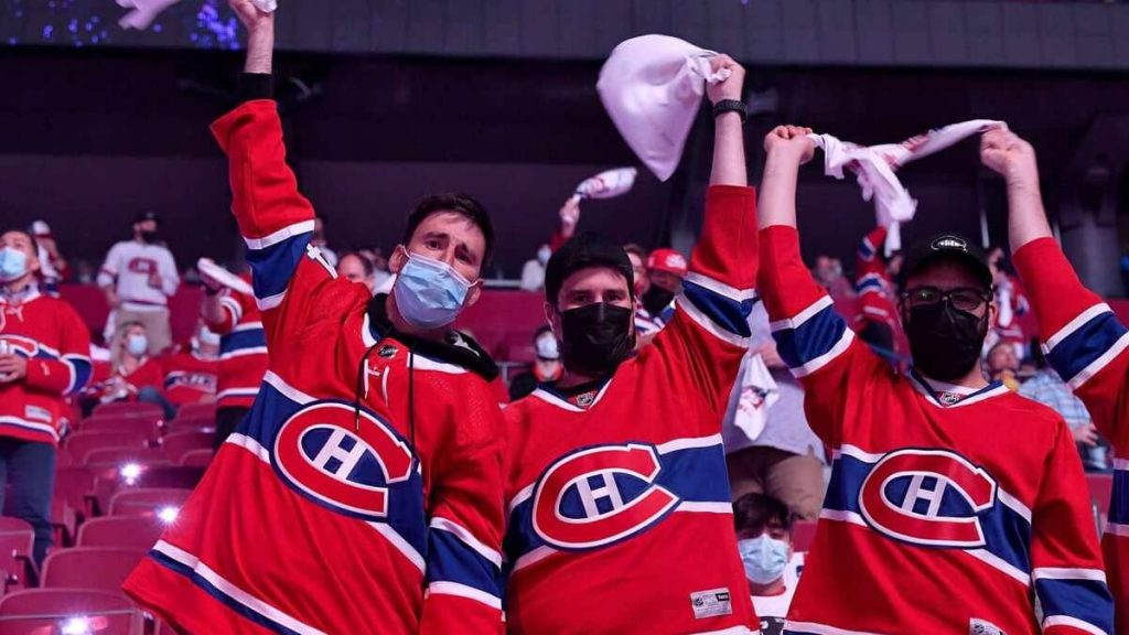 More audience, but double vaccinated at the Bell Center?