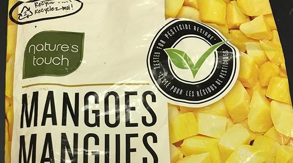 Nature Touch Frozen Mango Recall