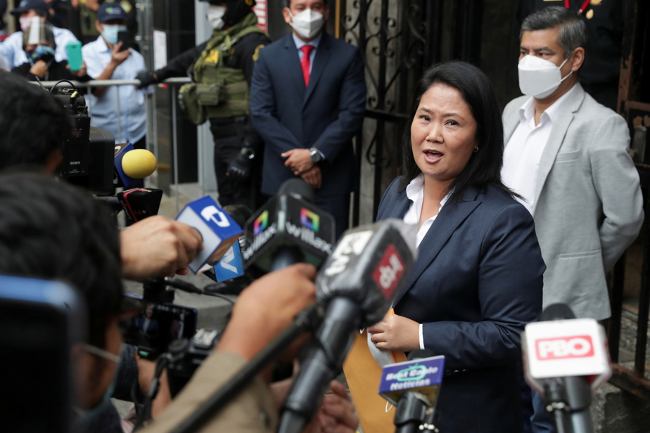 President of Peru |  Fujimori claimed that his opponent did not recognize the victory