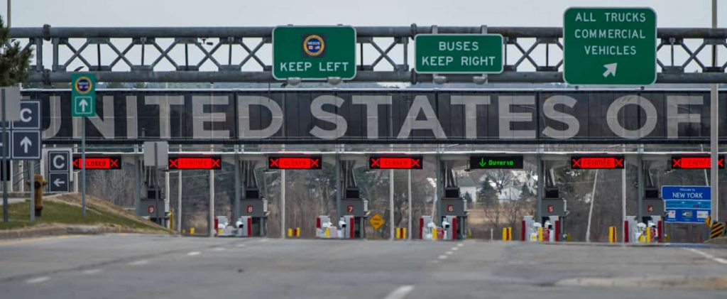 Reopening the land border to Americans on August 9
