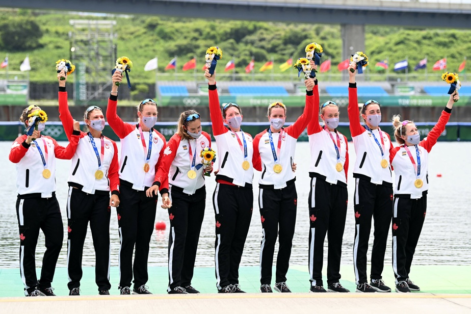 Rowing |  Canadian women won gold in eight