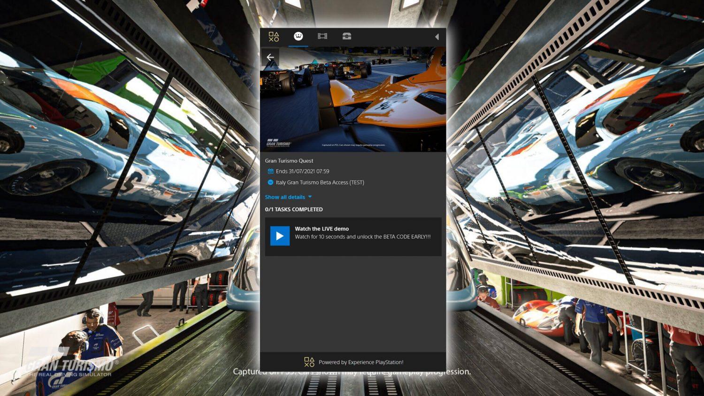 Gran Turismo 7 Beta Test