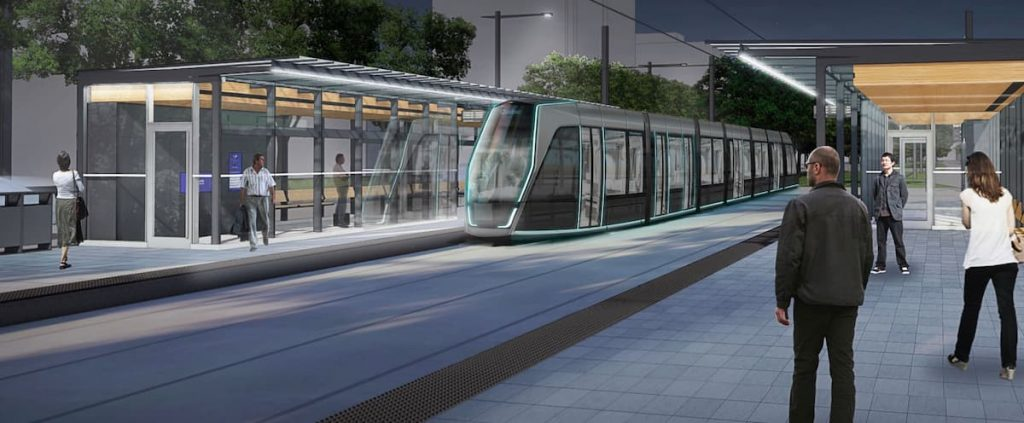 The tram eventually takes 4th Avenue in Limoilou instead of 3rd