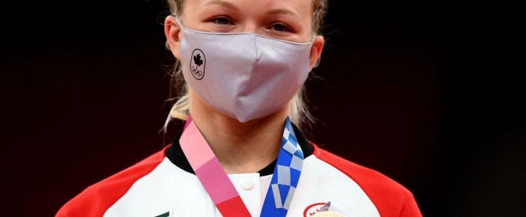 Tokyo Olympics: Jessica Klimkite wins bronze in Canadian judo history