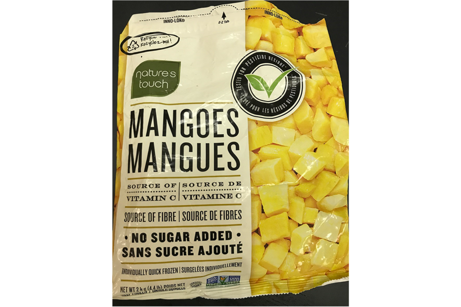 Transmission of hepatitis A is associated with frozen mangoes
