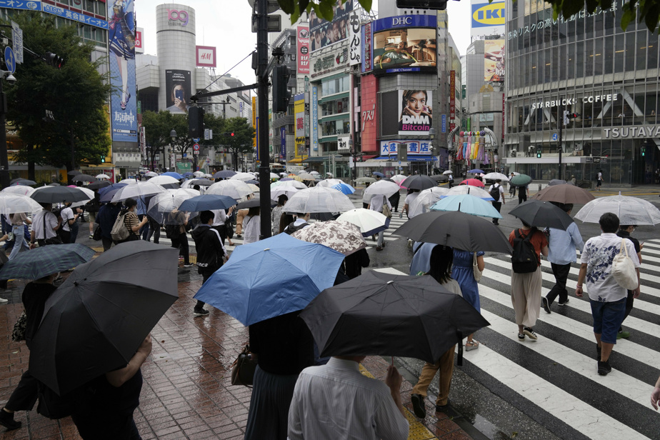 A new tropical storm is heading towards Tokyo