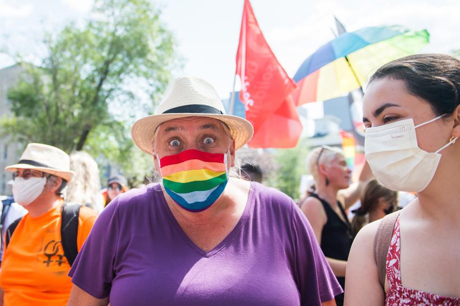 Manon Massey, co-spokeswoman for Quebec Solidair
