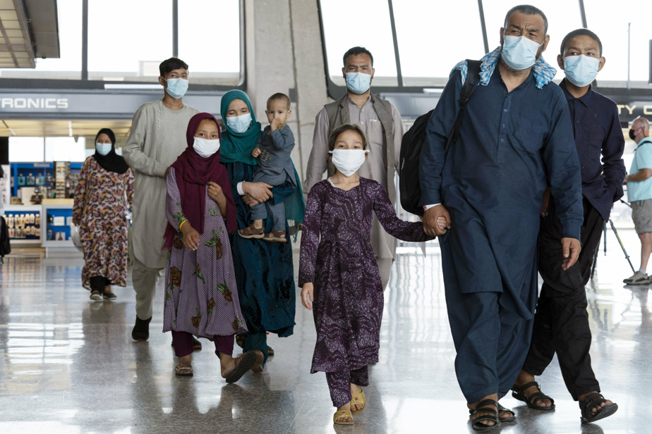 Arrival in Washington    The Afghan refugees were finally safe but frustrated