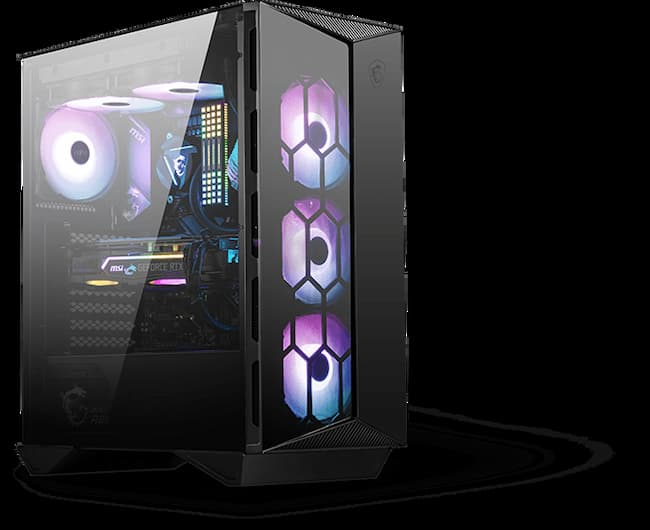 """MSI speeds up on its """"gaming"""" PC cases"""