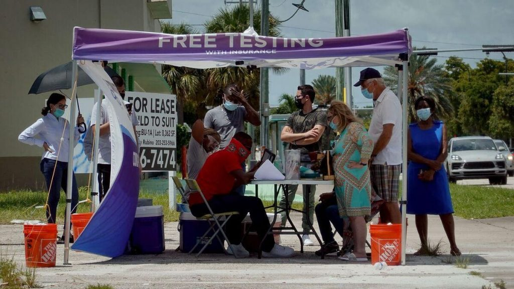21,000 new cases in 24 hours in Florida